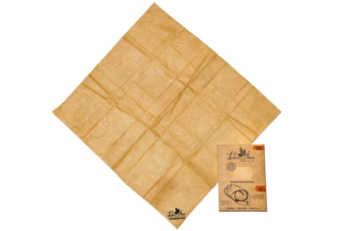 Bread Beeswax Wrap with packaging